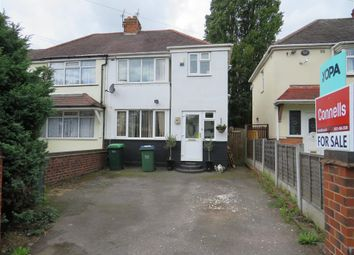 Thumbnail 3 bedroom semi-detached house for sale in Woden Road East, Wednesbury