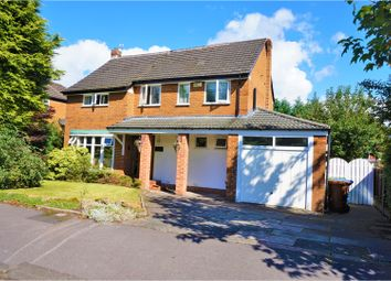 Thumbnail 4 bed detached house for sale in Borrowdale Avenue, Gatley