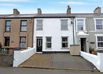 Thumbnail 3 bed terraced house for sale in County Road, Penygroes, Caernarfon