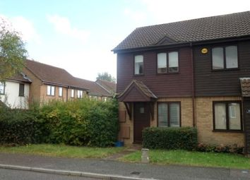 Thumbnail 1 bedroom end terrace house to rent in Kinross Drive, Bletchley, Milton Keynes
