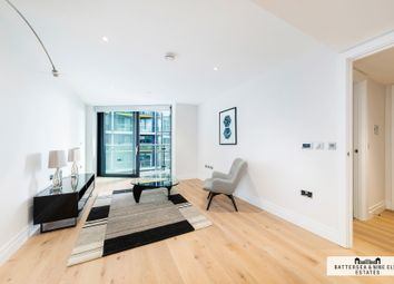 Thumbnail 1 bed flat to rent in Riverlight Quay, London