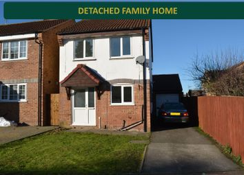 Thumbnail 3 bedroom detached house for sale in Bluebell Drive, Off Saffron Lane, Leicester