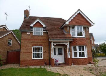 Thumbnail 3 bed detached house to rent in Hornbeam Close, Oadby, Leicester