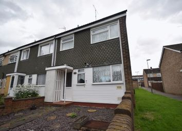 Thumbnail 3 bedroom end terrace house to rent in Arrow Close, Luton