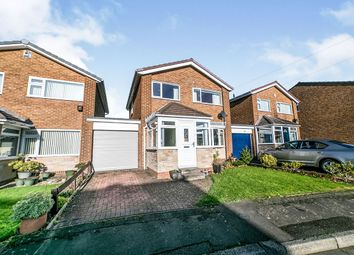 Thumbnail 3 bed detached house for sale in Horsley Avenue, Crawcrook Ryton, Tyne And Wear