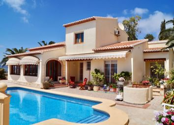 Thumbnail 3 bed villa for sale in Arnella, Moraira, Alicante, Valencia, Spain