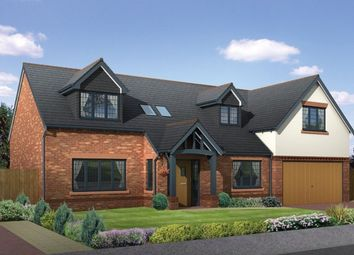 Thumbnail 4 bed detached house for sale in Moor Lane, Wilmslow