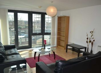 Thumbnail 2 bed flat to rent in City Road East, Manchester