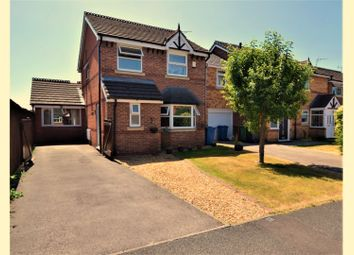 Thumbnail 4 bed detached house for sale in Spinnerette Close, Leigh
