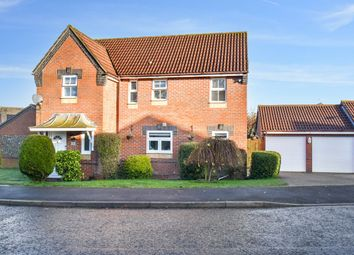 Thumbnail Detached house for sale in Lowry Close, Haverhill