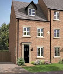 Thumbnail 3 bed town house for sale in Cobblestone Drive, Off William Nadin Way, Swadlincote