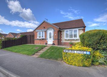 Thumbnail 3 bed bungalow for sale in Woburn Close, Bridlington