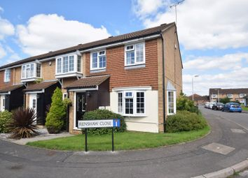 Thumbnail 3 bedroom end terrace house for sale in Renshaw Close, Luton