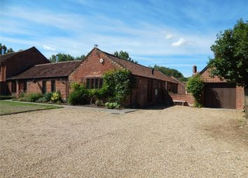 Thumbnail 5 bed barn conversion for sale in Wymondham Road, East Carleton, Norwich