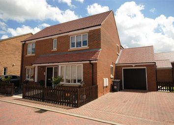 Thumbnail 4 bed detached house for sale in Crestwood Close, Northampton