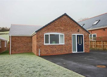 Thumbnail 3 bedroom bungalow for sale in Plot 37, Swallows Meadow, Castle Caereinion, Welshpool, Powys