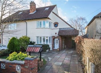 Thumbnail 5 bedroom semi-detached house for sale in Park Avenue, Histon, Cambridge