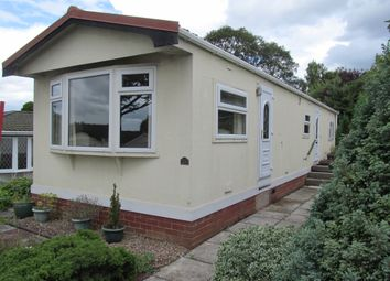 Thumbnail 2 bed mobile/park home for sale in Willow Crescent, Moss Lane, Moore (Ref 5662), Warrington, Cheshire