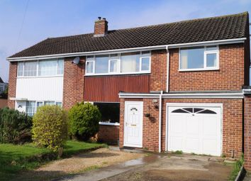 Thumbnail 4 bed semi-detached house for sale in Barnacre Drive, Hucclecote, Gloucester