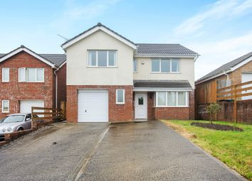 Thumbnail 4 bed detached house for sale in Pearson Way, Neath