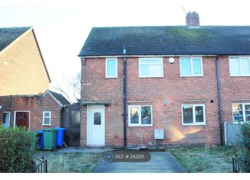 Thumbnail 3 bed semi-detached house to rent in Chesterton Drive, Worksop