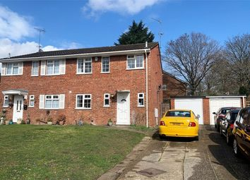 Thumbnail 3 bed semi-detached house for sale in Denton Way, Frimley, Camberley, Surrey