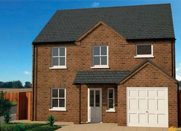Thumbnail 4 bed detached house for sale in Kettle Close, Newborough, Peterborough