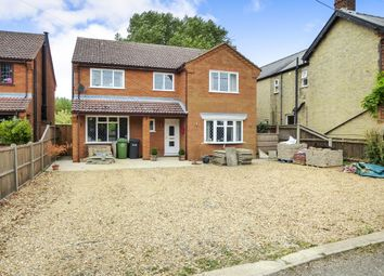 Thumbnail 4 bedroom detached house for sale in Croft Road, Upwell, Wisbech