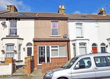 Thumbnail 3 bed terraced house for sale in Wellington Road, Gillingham