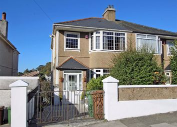 Thumbnail 3 bed semi-detached house for sale in Efford Crescent, Higher Compton, Plymouth