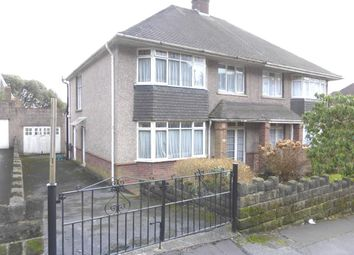 Thumbnail 3 bedroom semi-detached house for sale in Ffynone Drive, Swansea