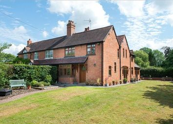 Thumbnail 4 bed semi-detached house for sale in The Croft, Claverdon, Warwick