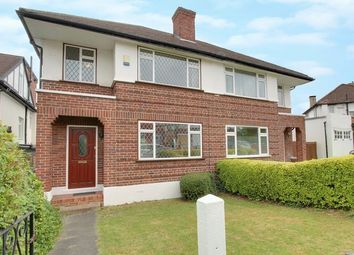 Thumbnail 3 bed semi-detached house for sale in West Close, Greenford