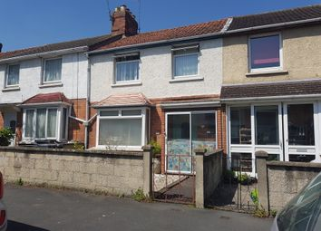 Thumbnail 3 bed terraced house for sale in Westmorland Road, Swindon