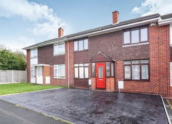 Thumbnail 3 bed terraced house for sale in Brookhouse Close, Featherstone, Wolverhampton