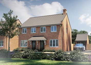 "Thumbnail 3 bedroom semi-detached house for sale in ""The Studland"" at North End Road, Yatton, Bristol"