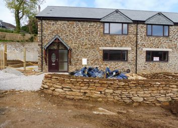 Thumbnail 3 bed semi-detached house for sale in Trelaske Lane, Polperro Road, Looe