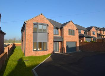 Thumbnail 5 bed detached house for sale in Plot 6 - Station Road, Pilsley, Chesterfield