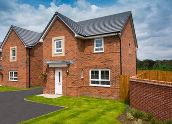 "Thumbnail 4 bedroom detached house for sale in ""Kingsley"" at Barff Lane, Brayton, Selby"