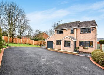 Thumbnail 4 bed detached house for sale in Stoke Close, Belper