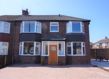 Thumbnail 4 bed semi-detached house for sale in Ellesmere Drive, Cheadle