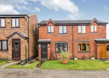 Thumbnail 2 bed end terrace house for sale in Bryans Way, Littleworth, Cannock, United Kingdom