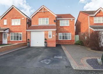 Thumbnail 4 bed detached house for sale in Fallowfields, Coventry, West Midlands