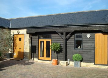 Thumbnail 2 bedroom barn conversion to rent in Harradine Close, Woodhurst, Huntingdon