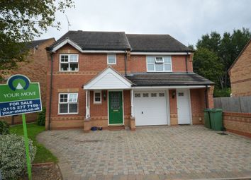 Thumbnail 5 bedroom detached house for sale in Phillip Drive, Glen Parva, Leicester