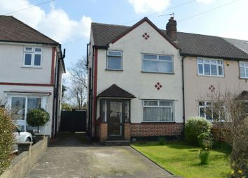 Thumbnail 4 bed end terrace house for sale in Danetree Road, West Ewell, Epsom