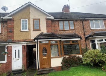 Thumbnail 2 bed terraced house to rent in Henbury Road, Birmingham