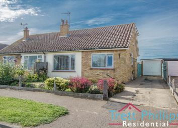 Thumbnail 3 bed semi-detached bungalow for sale in Russell Avenue, Caister-On-Sea, Great Yarmouth