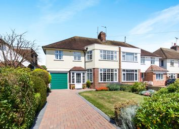 Thumbnail 4 bed semi-detached house for sale in Robson Road, Goring-By-Sea, Worthing