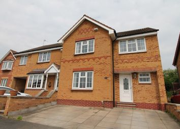 Thumbnail 4 bed semi-detached house for sale in Columbine Road, Hamilton, Leicester